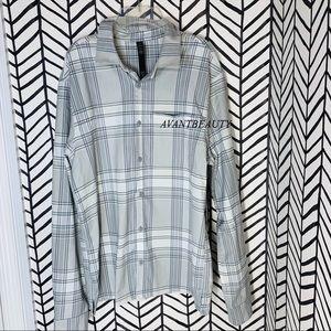 🔸 Lululemon masons peak flannel long sleeve M new